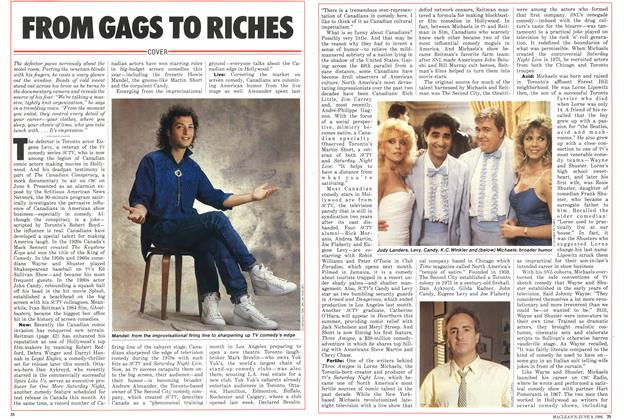 Article Preview: FROM GAGS TO RICHES, June 1986 | Maclean's