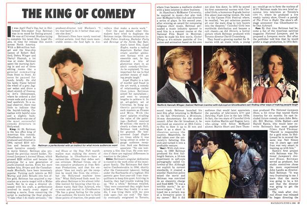 Article Preview: THE KING OF COMEDY, June 1986 | Maclean's