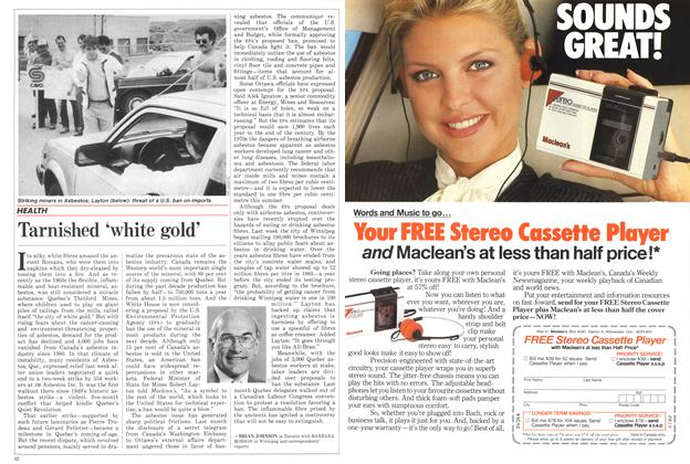 Article Preview: Tarnished 'white gold', June 1986 | Maclean's