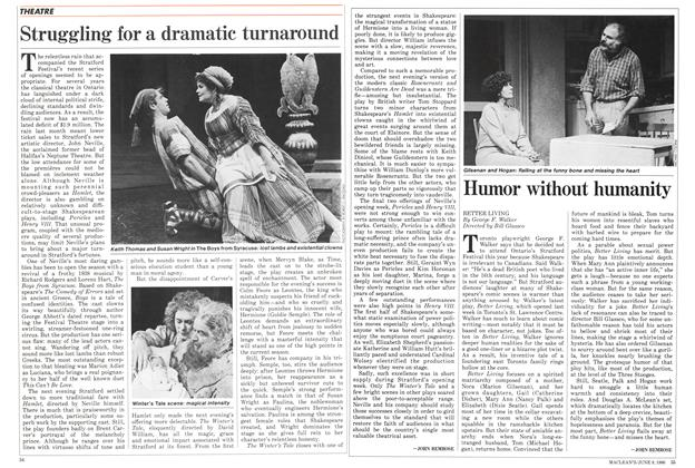 Article Preview: Humor without humanity, June 1986 | Maclean's