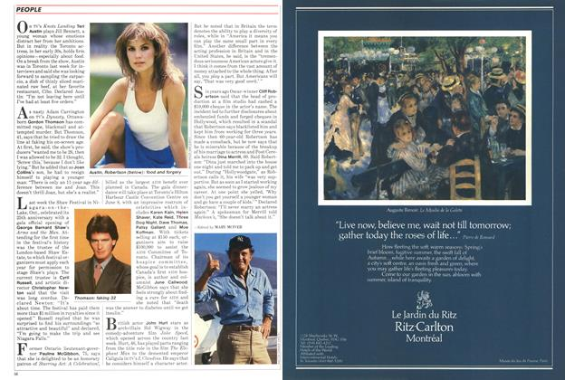 Article Preview: PEOPLE, June 1986 | Maclean's