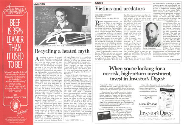Article Preview: Recycling a heated myth, June 1986 | Maclean's