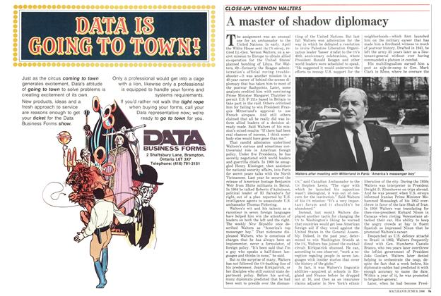 Article Preview: A master of shadow diplomacy, June 1986 | Maclean's