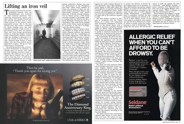 Article Preview: Lifting an iron veil, June 1986 | Maclean's