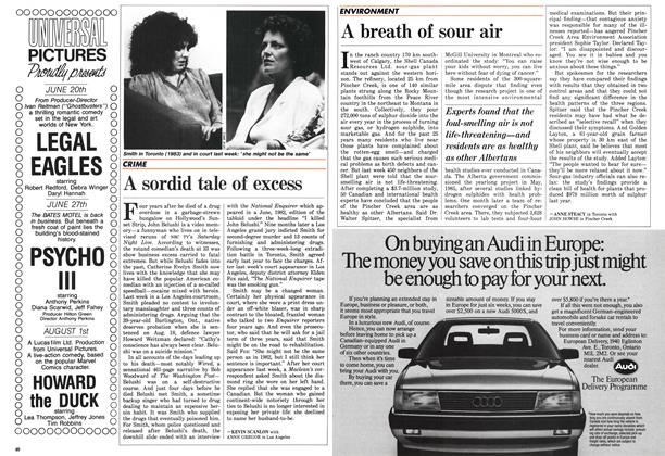 Article Preview: A sordid tale of excess, June 1986 | Maclean's