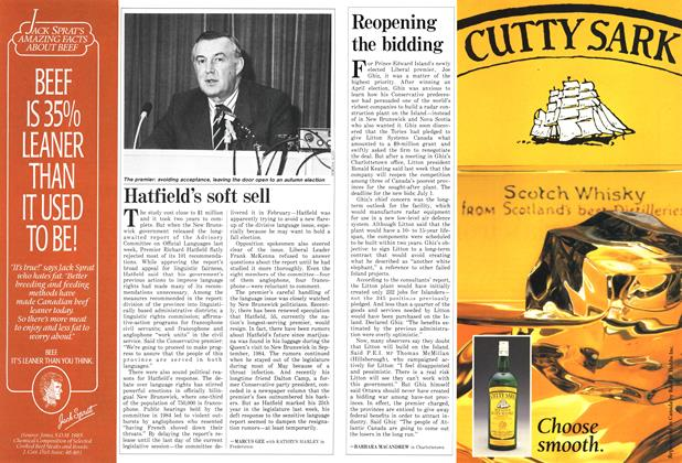 Article Preview: Reopening the bidding, June 1986 | Maclean's