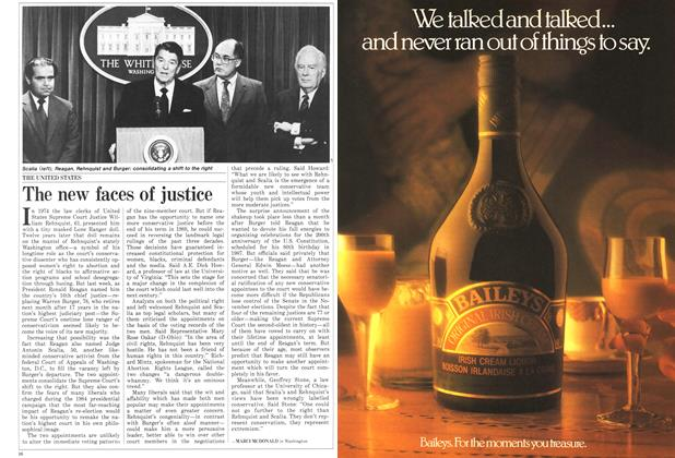 Article Preview: The new faces of justice, June 1986 | Maclean's