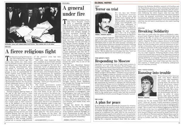 Article Preview: A fierce religious fight, June 1986 | Maclean's