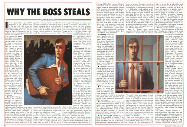 Article Preview: WHY THE BOSS STEALS, June 1986 | Maclean's