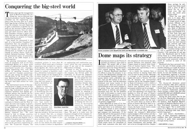 Article Preview: Conquering the big-steel world, June 1986 | Maclean's