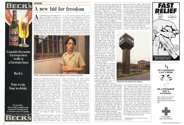 Article Preview: A new bid for freedom, June 1986 | Maclean's