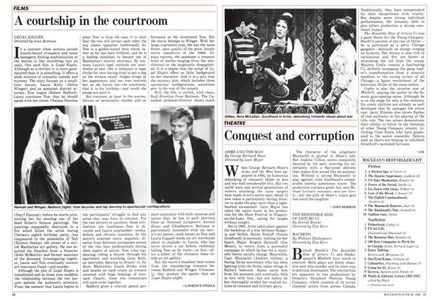 Article Preview: A courtship in the courtroom, June 1986 | Maclean's