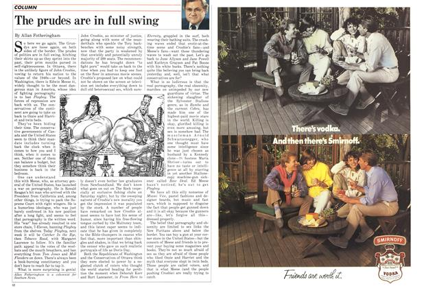 Article Preview: The prudes are in full swing, June 1986 | Maclean's