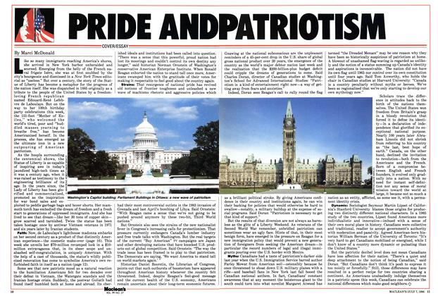 Article Preview: PRIDE AND PATRIOUTISM, JULY 7,1986 1986 | Maclean's