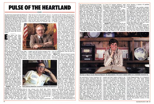 Article Preview: PULSE OF THE HEARTLAND, JULY 7,1986 1986 | Maclean's