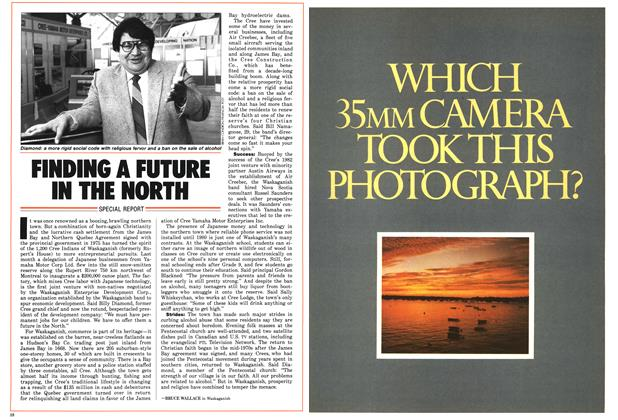 Article Preview: FINDING A FUTURE IN THE NORTH, July 1986 | Maclean's