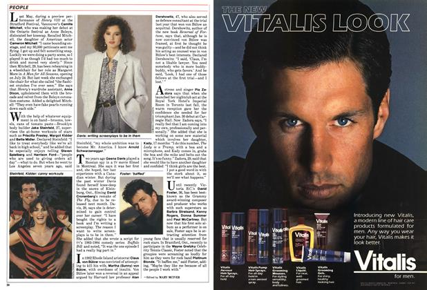 Article Preview: PEOPLE, July 1986 | Maclean's