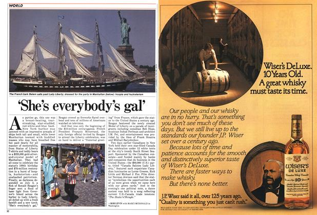 Article Preview: 'She's everybody's gal', July 1986 | Maclean's