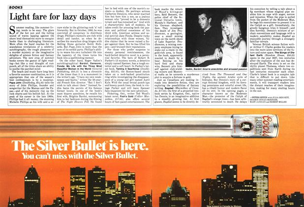 Article Preview: Light fare for lazy days, July 1986 | Maclean's