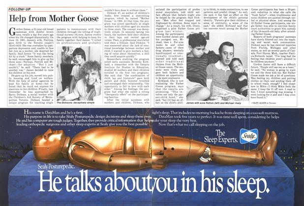 Article Preview: Help from Mother Goose, July 1986   Maclean's