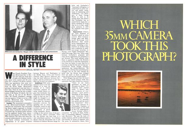 Article Preview: A DIFFERENCE IN STYLE, July 1986 | Maclean's