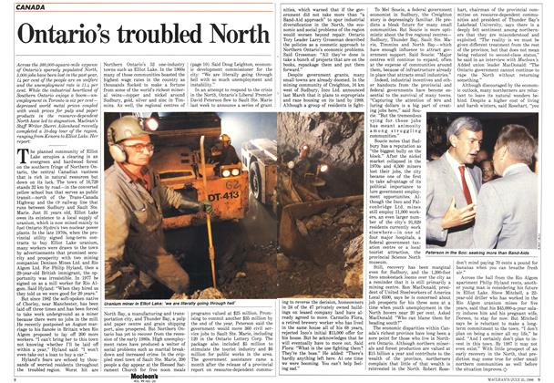 Article Preview: Ontario's troubled North, July 1986 | Maclean's