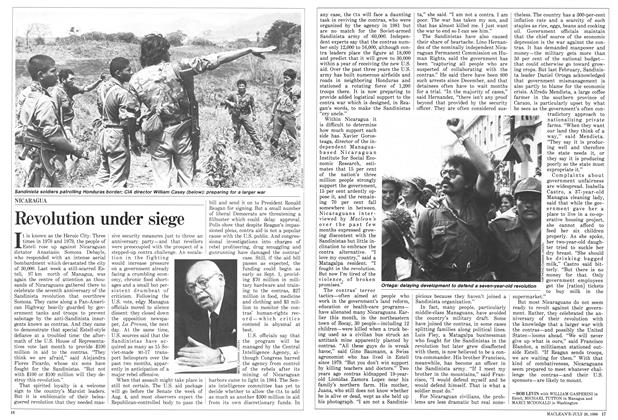 Article Preview: Revolution under siege, July 1986 | Maclean's