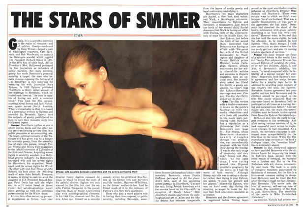 Article Preview: THE STARS OF SUMMER, July 1986 | Maclean's
