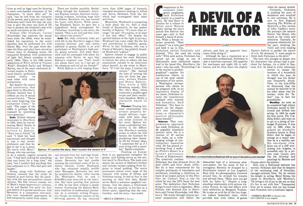 Article Preview: A DEVIL OF A FINE ACTOR, July 1986 | Maclean's