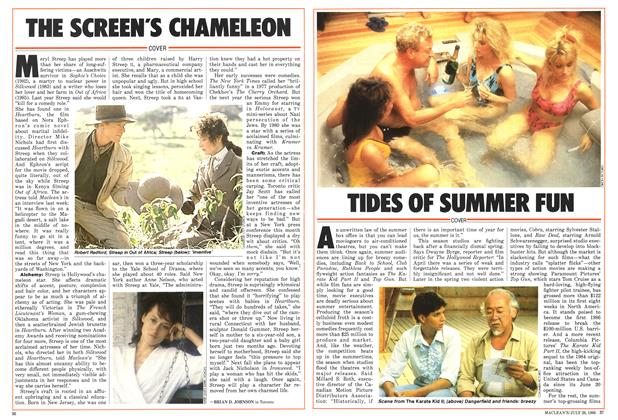 Article Preview: THE SCREEN'S CHAMELEON, July 1986 | Maclean's