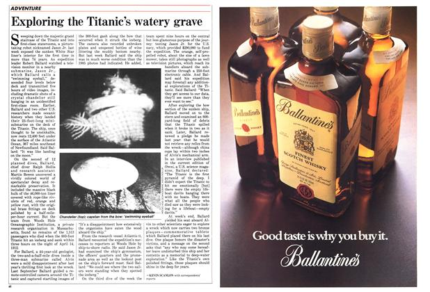 Article Preview: Exploring the Titanic's watery grave, July 1986 | Maclean's