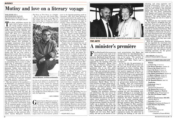 Article Preview: Mutiny and love on a literary voyage, July 1986 | Maclean's