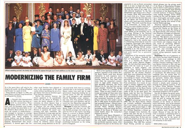 Article Preview: MODERNIZING THE FAMILY FIRM, August 1986 | Maclean's