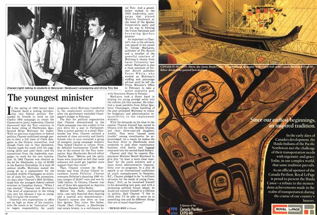 Article Preview: The youngest minister, August 1986 | Maclean's