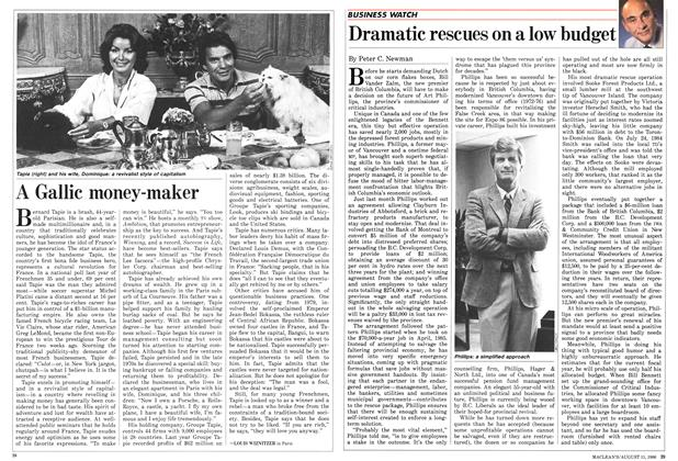Article Preview: Dramatic rescues on a low budget, August 1986 | Maclean's