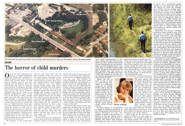 Article Preview: The horror of child murders, August 1986 | Maclean's