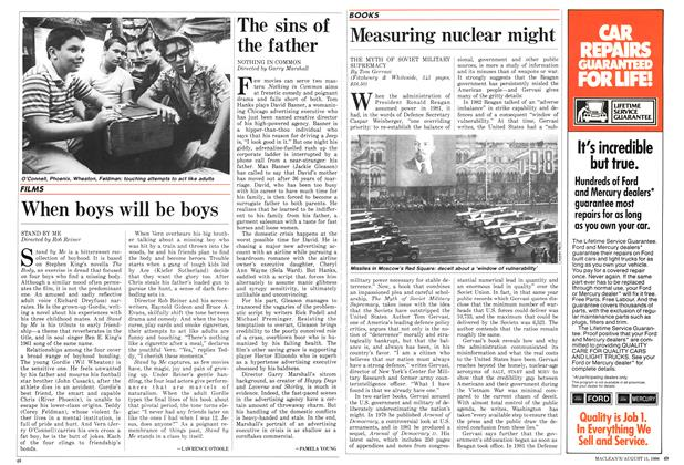 Article Preview: Measuring nuclear might, August 1986 | Maclean's