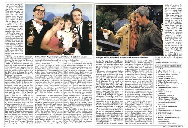 Article Preview: MACLEAN'S BEST-SELLER LIST, August 1986 | Maclean's