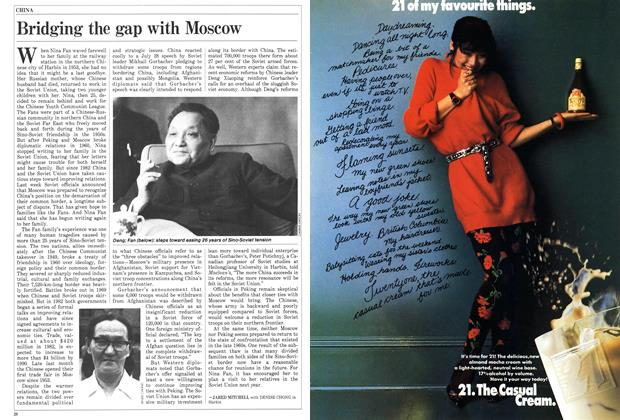 Article Preview: Bridging the gap with Moscow, August 1986 | Maclean's