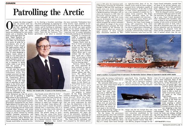 Article Preview: Patrolling the Arctic, August 1986 | Maclean's
