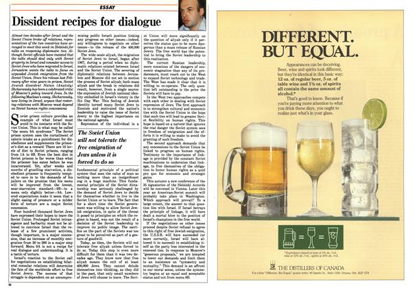 Article Preview: Dissident recipes for dialogue, August 1986 | Maclean's