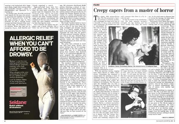 Article Preview: Creepy capers from a master of horror, August 1986 | Maclean's
