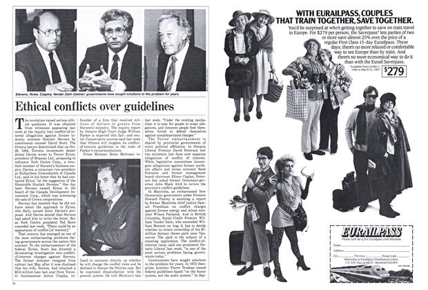 Article Preview: Ethical conflicts over guidelines, September 1986 | Maclean's