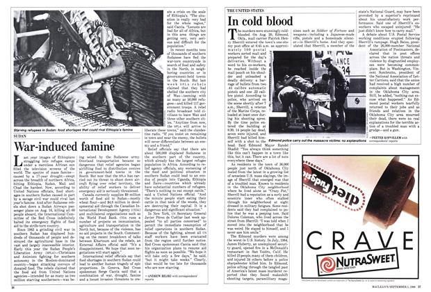 Article Preview: In cold blood, September 1986 | Maclean's