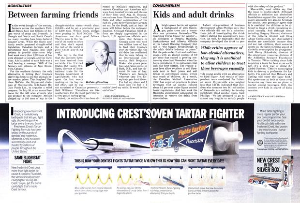Article Preview: Kids and adult drinks, September 1986 | Maclean's