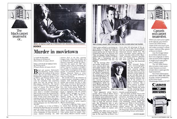 Article Preview: Murder in movietown, September 1986 | Maclean's