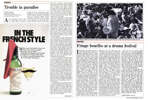 Article Preview: Trouble in paradise, September 1986 | Maclean's