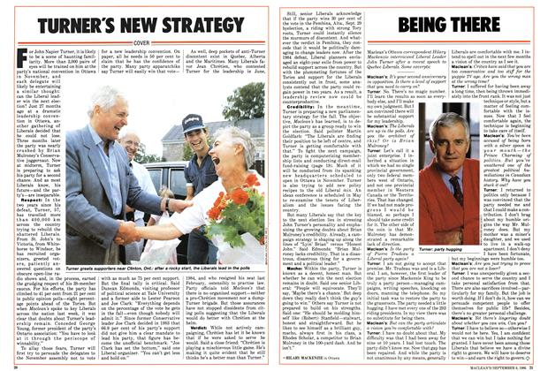 Article Preview: TURNER'S NEW STRATEGY, September 1986 | Maclean's
