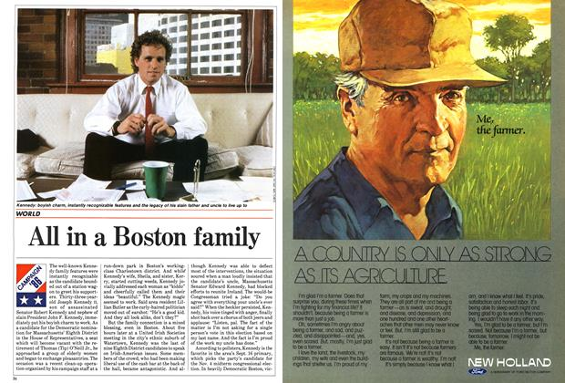 Article Preview: All in a Boston family, September 1986 | Maclean's