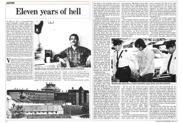 Article Preview: Eleven years of hell, September 1986 | Maclean's